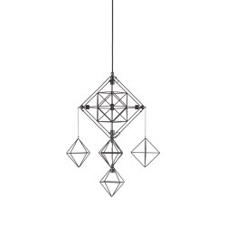 Talisman | Pendant Lamp | M Black | Suspended lights | Forestier