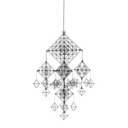 Talisman | Pendant Lamp | XL Black | Suspended lights | Forestier