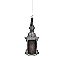 Tibet | Pendant Lamp | Black | Lampade sospensione | Forestier
