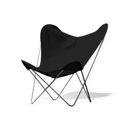 Hardoy Butterfly Chair OUTDOOR Batyline anthracite | Sillones | Weinbaums