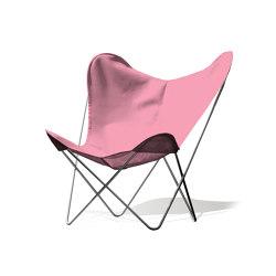 Hardoy Butterfly Chair OUTDOOR Batyline rosé | Sessel | Weinbaums