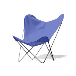 Hardoy Butterfly Chair OUTDOOR Batyline blau | Sessel | Weinbaums
