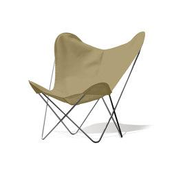 Hardoy Butterfly Chair OUTDOOR Batyline khaki | Sillones | Weinbaums