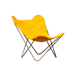 Hardoy Butterfly Chair KIDS Batyline citrus yellow | Kids armchairs / sofas | Weinbaums