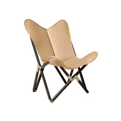 Fenby Tripolina Chair ORIGINAL leather honey brown | Armchairs | Weinbaums