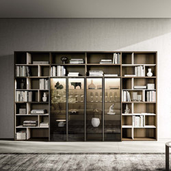 Logiko floor standing bookcase | Shelving | Jesse