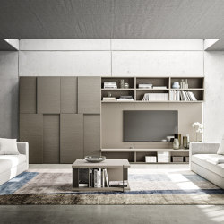 Logiko floor standing bookcase | Conjuntos de salón | Jesse