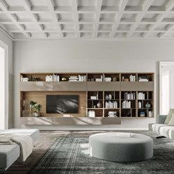 Logiko hanging bookcase | Wall storage systems | Jesse