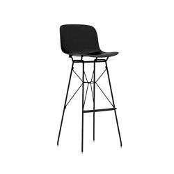 Troy | Steel rod | Bar stools | Magis