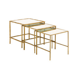 Bamboo | 3 Bamboo stalks snap-fit tables | Nesting tables | Il Bronzetto - Brass Brothers & Co