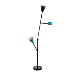 Blossom B'Tree | Geometric shapes floor Lamp | Free-standing lights | Bronzetto