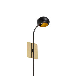 Blossom Tulip | One stalk wall light | Wall lights | Il Bronzetto - Brass Brothers & Co