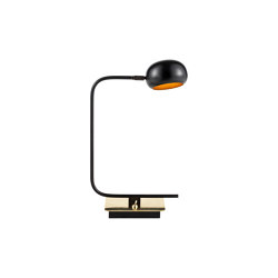 Blossom Tulip | Curved stalk table lamp | Table lights | Il Bronzetto - Brass Brothers & Co