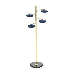 Gea | Floor lamp 4 lights | Standleuchten | Bronzetto