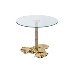 Gingko Biloba | Leaves base table grande | Side tables | Bronzetto