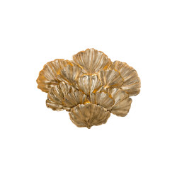 Gingko Biloba | Gingko leaves wall lamp | Wall lights | Il Bronzetto - Brass Brothers & Co