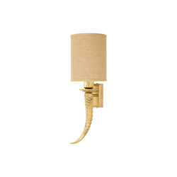 Horn | Horn wall lamp | Wall lights | Il Bronzetto - Brass Brothers & Co