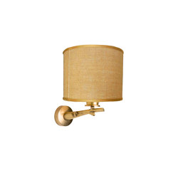 Oak | Oak branch wall lamp | Wall lights | Il Bronzetto - Brass Brothers & Co