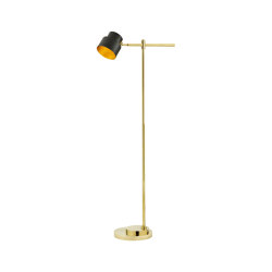 Satellite | Industrial-chic Floor lamp hight 120 cm | Standleuchten | Il Bronzetto - Brass Brothers & Co