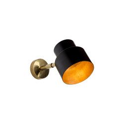 Satellite | Industrial-chic medium wall light | Appliques murales | Il Bronzetto - Brass Brothers & Co