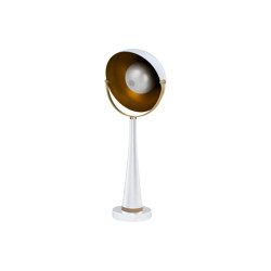 Soundlight | Table half sphere sound lamp | Table lights | Il Bronzetto - Brass Brothers & Co