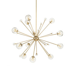 Timeless | Solar System chandelier medium | Suspended lights | Il Bronzetto - Brass Brothers & Co