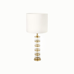 Timeless | Table lamp lotus leaves | Luminaires de table | Il Bronzetto - Brass Brothers & Co