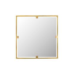 Timeless | Specchio quadrato | Specchi | Il Bronzetto - Brass Brothers & Co