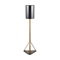 Timeless | Top hat floor lamp | Standleuchten | Il Bronzetto - Brass Brothers & Co