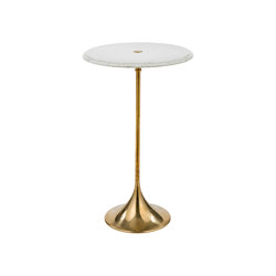 Timeless | Round marble bar table | Bistro tables | Il Bronzetto - Brass Brothers & Co