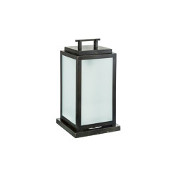 Timeless | Handle lantern (shatterproof glass) | Table lights | Il Bronzetto - Brass Brothers & Co