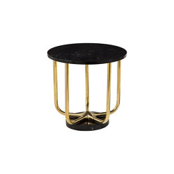 Timeless | Up side down table small | Tables d'appoint | Il Bronzetto - Brass Brothers & Co
