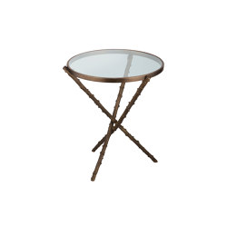 Wild Rose | Rosehip stalks table medium | Mesas auxiliares | Il Bronzetto - Brass Brothers & Co