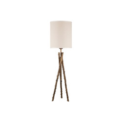 Wild Rose | Estensible rosehips stalks table lamp media | Lámparas de sobremesa | Il Bronzetto - Brass Brothers & Co