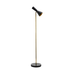 Wormhole | Vintage Floor lamp | Lámparas de pie | Il Bronzetto - Brass Brothers & Co