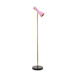 Wormhole | Vintage Floor lamp | Luminaires sur pied | Il Bronzetto - Brass Brothers & Co