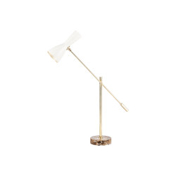Wormhole | Vintage table beam lamp | Luminaires de table | Il Bronzetto - Brass Brothers & Co