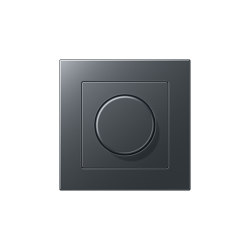A 550   Drehdimmer Anthrazit   Rotary switches   JUNG