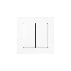 A Flow   Tastsensor F 40 2fach Weiß   Push-button switches   JUNG