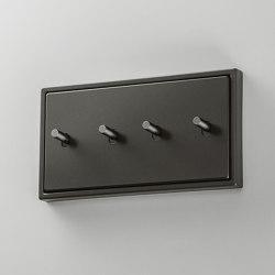 LS 1912 | Dark zweifach Kippschalter Zylinder doppelt | Toggle switches | JUNG