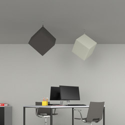Kubo | Ceiling panels | Caruso Acoustic by Lamm