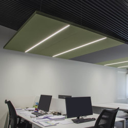 Nuvola | Ceiling panels | Caruso Acoustic by Lamm