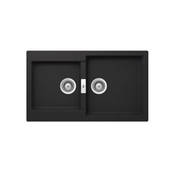 Oslo | Kitchen sink | Black | Kitchen sinks | ROCA
