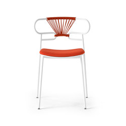 Genoa 0047-MET CROSS PU | Chairs | Trabà