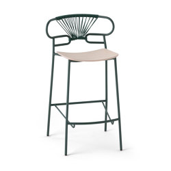 Genoa 0049-MET-CROSS | Bar stools | Trabà