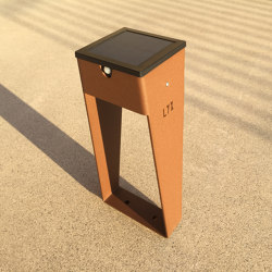 SOLAR pathway light | BTS 400 | Outdoor floor-mounted lights | LYX Luminaires