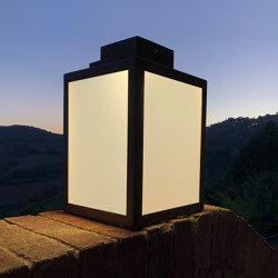 SOLAR lantern | LAS 400 | Outdoor floor lights | LYX Luminaires