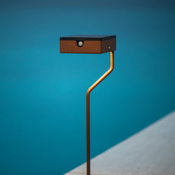 SOLAR pathway light | TEE | Outdoor floor-mounted lights | LYX Luminaires