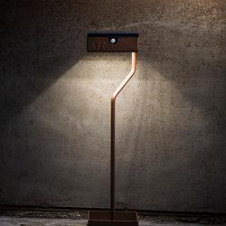 SOLAR pathway light | TEE on TOP | Outdoor floor-mounted lights | LYX Luminaires