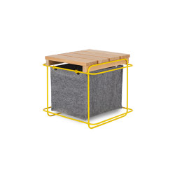 Grit Mimosa / Stool | Storage boxes | bartmann berlin